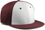 Sportflex XL/XXL Baseball Caps for Big Heads - Maroon/White