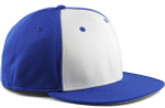 Sportflex XL/XXL Baseball Caps for Big Heads - Royal/White