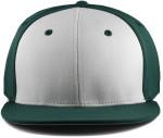 Sportflex XL/XXL Baseball Caps for Big Heads - Green/White