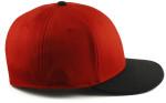 Sportflex XL/XXL Baseball Caps for Big Heads - Red/Black