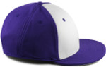 Sportflex XL/XXL Baseball Caps for Big Heads - Purple/White