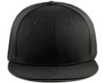 Sportflex XL/XXL Baseball Caps for Big Heads - Black