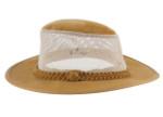 Aussie Hats for Big heads - Tan