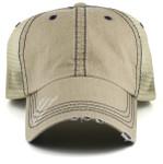 Vintage Low Profile Big Hats Front