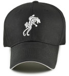 Panther Big Head Baseball Cap's Front
