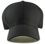Trucker Baseball Caps Front - Black