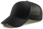 Flexfit Fitted Mesh Big Trucker Hat - Black