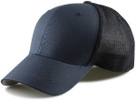 Flexfit Fitted Mesh Big Trucker Hat - Navy