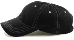 Big Head Dad Cap-Black