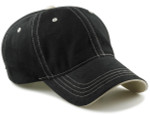 Dad Hat for Big Heads-Black