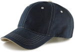 Dad Caps for Big Heads-Navy