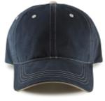 Adjustable Big Head Dad Hat-Navy