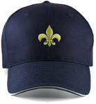 Front Large Caps Navy