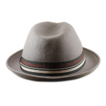 Fedoras for Large Heads Back - Grey