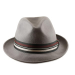 Fedoras for Large Heads Front - Grey