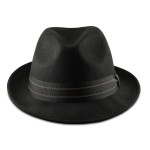 Fedoras for Big Heads Front - Black