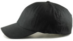 dad hats for big heads - black