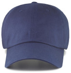 big size dad hats - navy