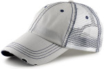 Vintage Low Profile Trucker Hat for Big Heads - Putty