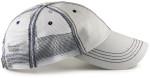Low Profile Trucker Hat for Big Heads - Side