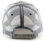 Low Profile Trucker Hat for Big Heads - Back