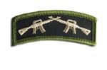 Crossed Rifles Hook & Loop Morale Patch