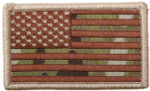 United States Hook & Loop Morale Patch - Camo