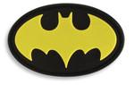 Batman Hook & Loop Morale Patch - Black/Yellow