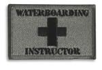 Waterboarding Instructor Hook & Loop Morale Patch