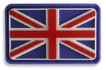 Flag of the United Kingdom 3D Hook & Loop Morale Patch