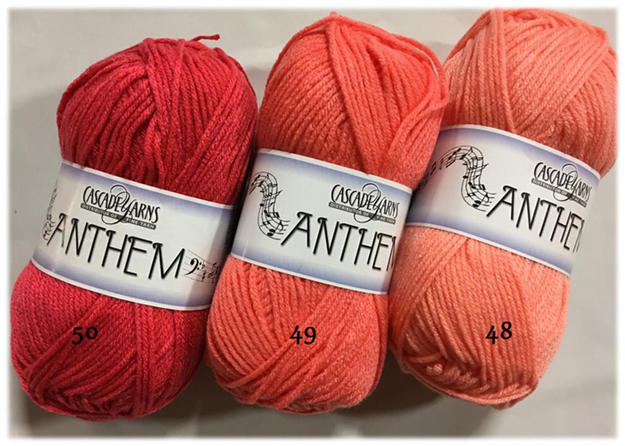 Cascade Yarn - Anthem - 100% Acrylic