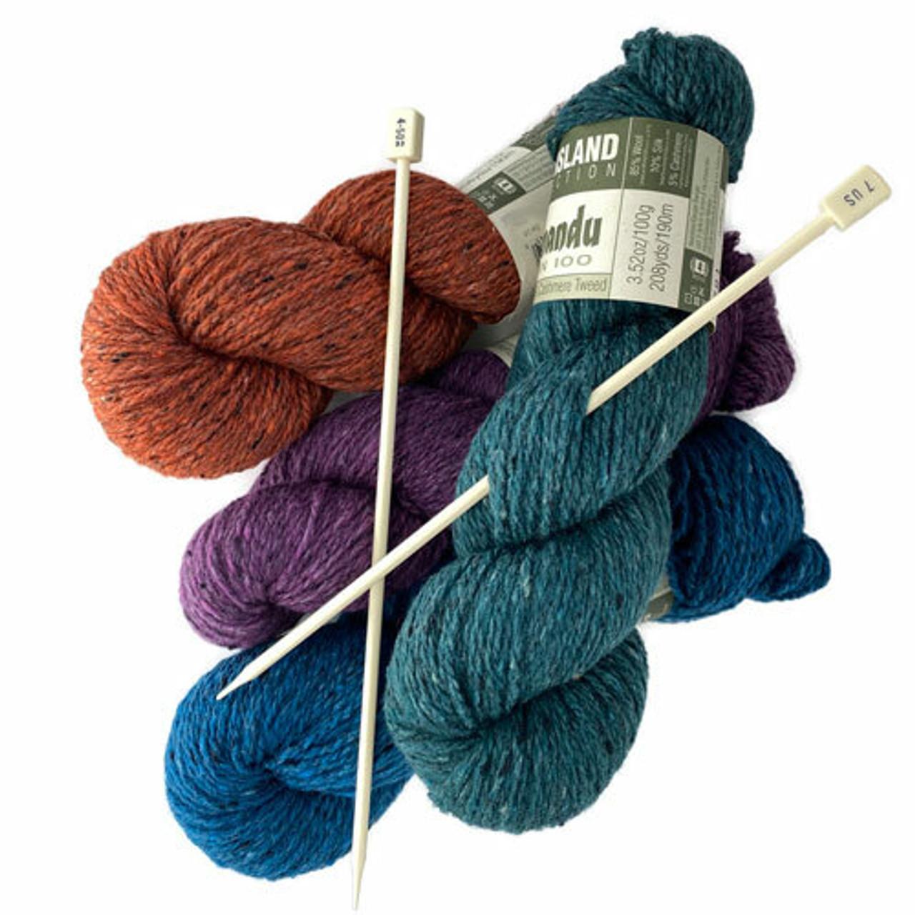 Single Point Knitting Needles at the Yarn Store