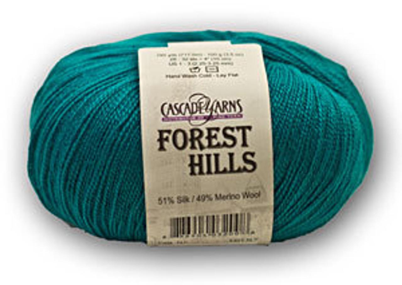 Cascade Forest Hills Silk/Merino Yarn