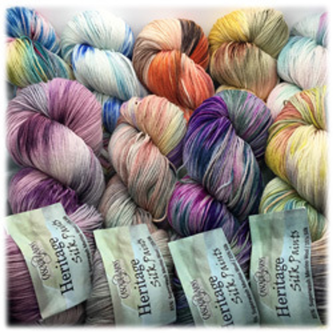 Cascade Yarns - Heritage Silk Paints | Angelika's Yarn Store