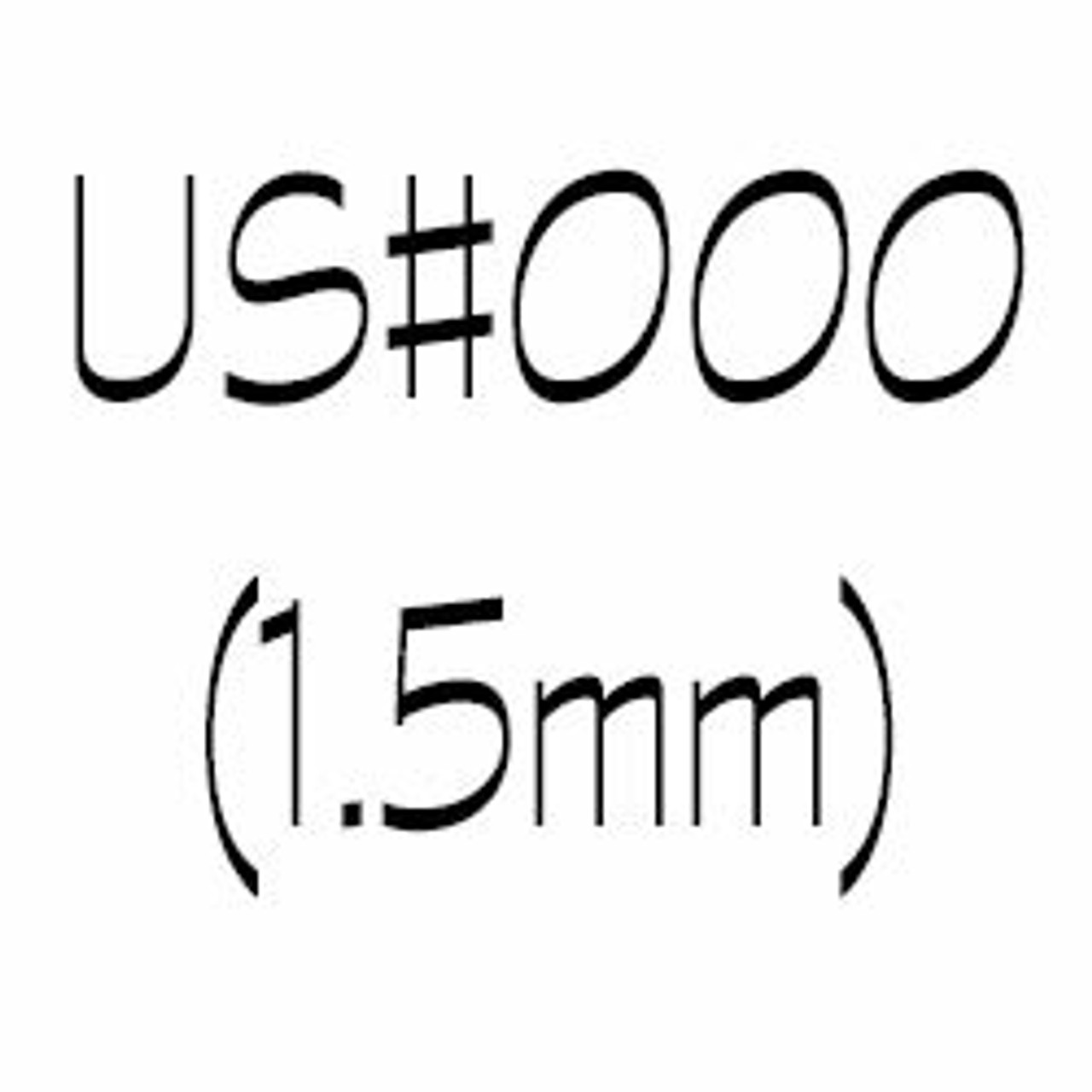 US#000 (1.5mm) Double Point Knitting Needles