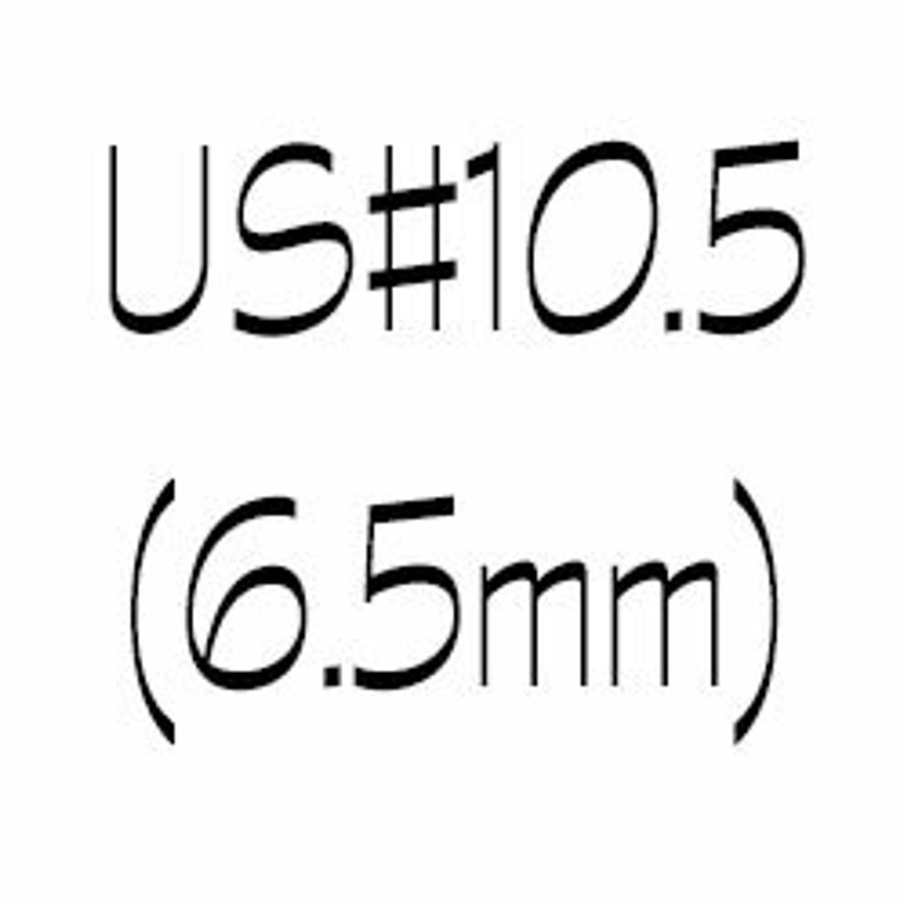 US#10.5 (6.5mm) Single Point Knitting Needles - Angelika's Yarn Store