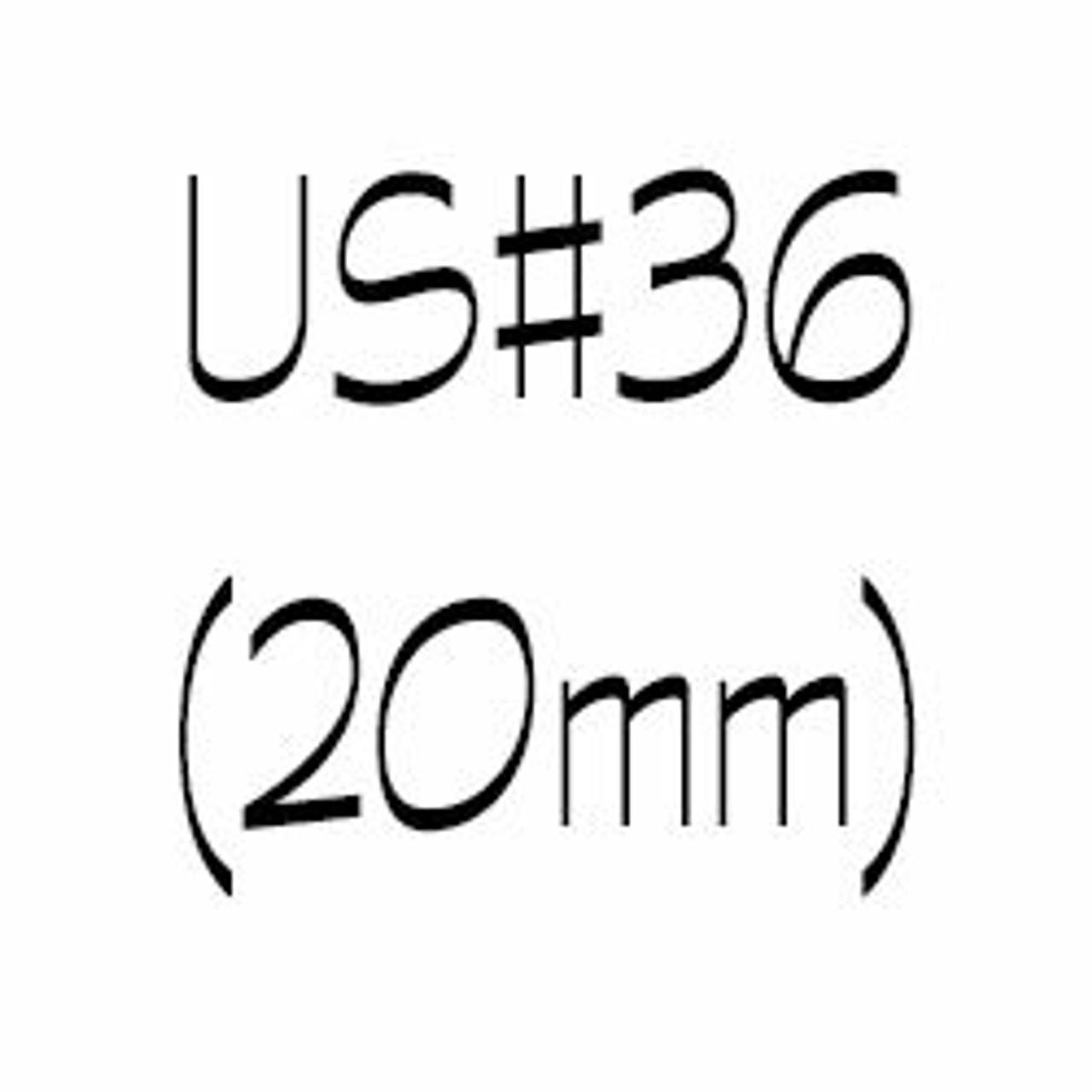 US#36 (20mm) Circular Knitting Needles