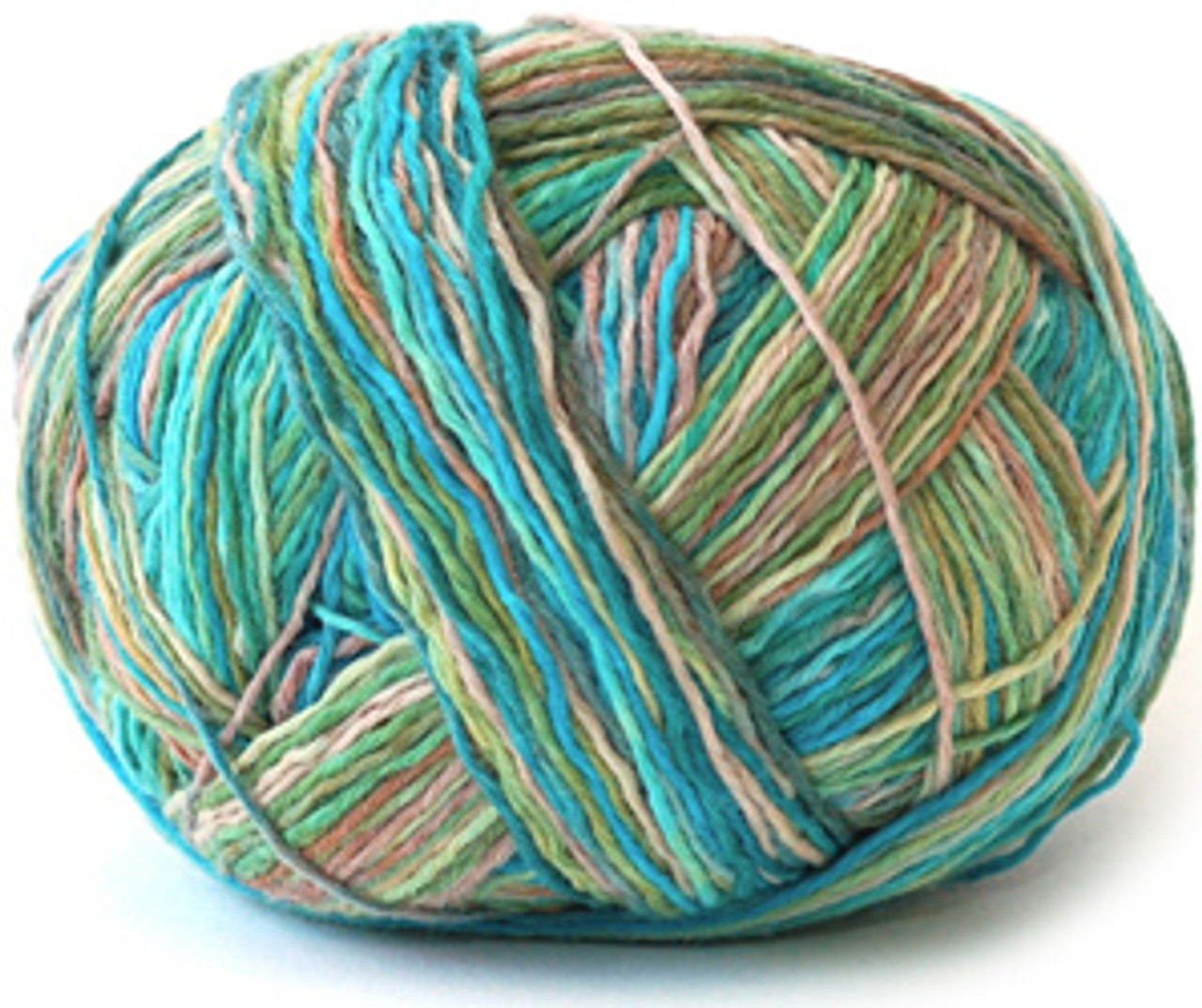 Schoppel XL Kleckse Cat Print Yarn-a yarn that is knit, dyed and then unraveled for intriguing and unpredictable color patterning.
