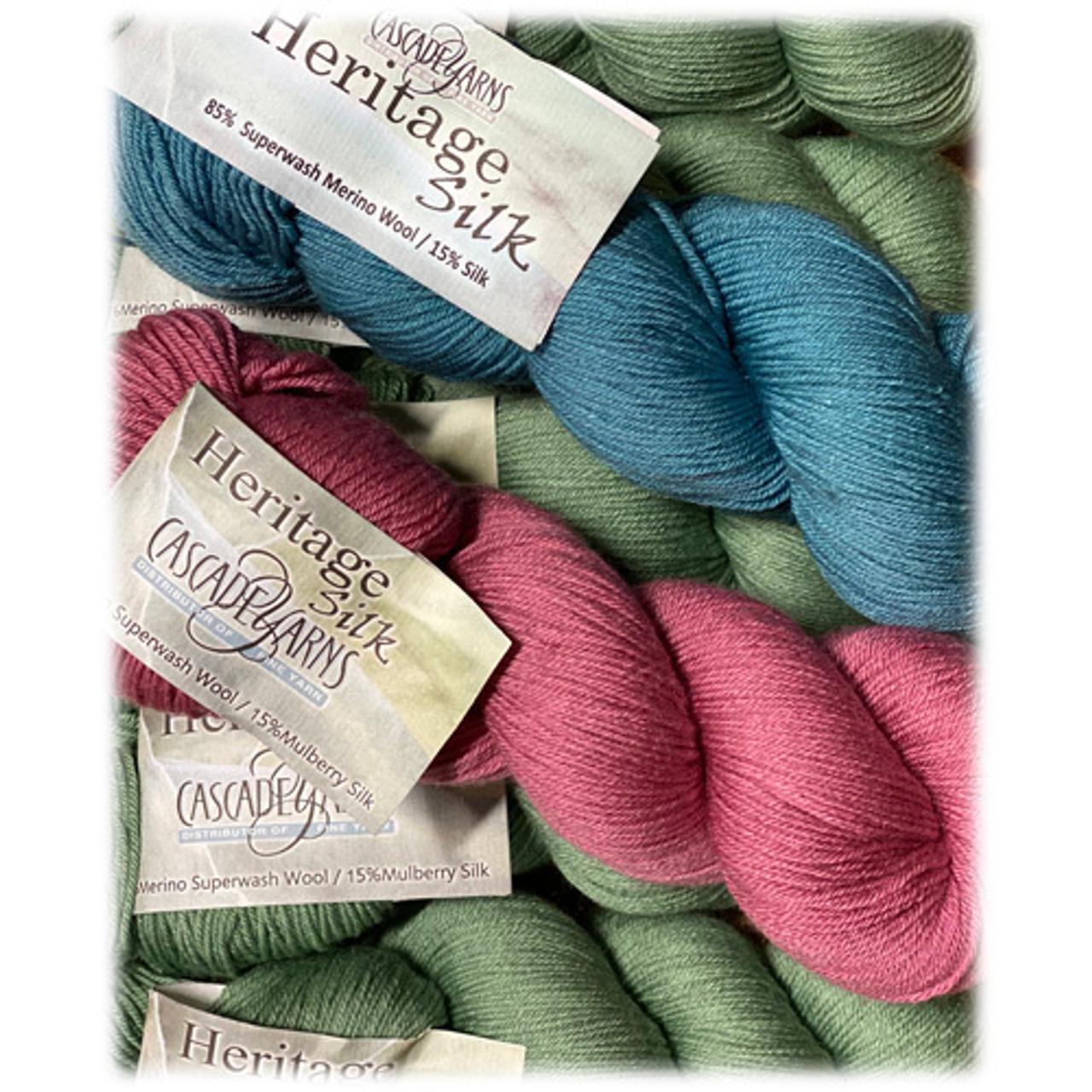 Cascade Yarns - Heritage Silk