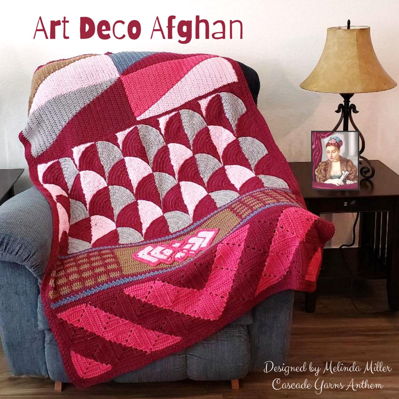 Cascade Yarns - Art Deco Crochet Along