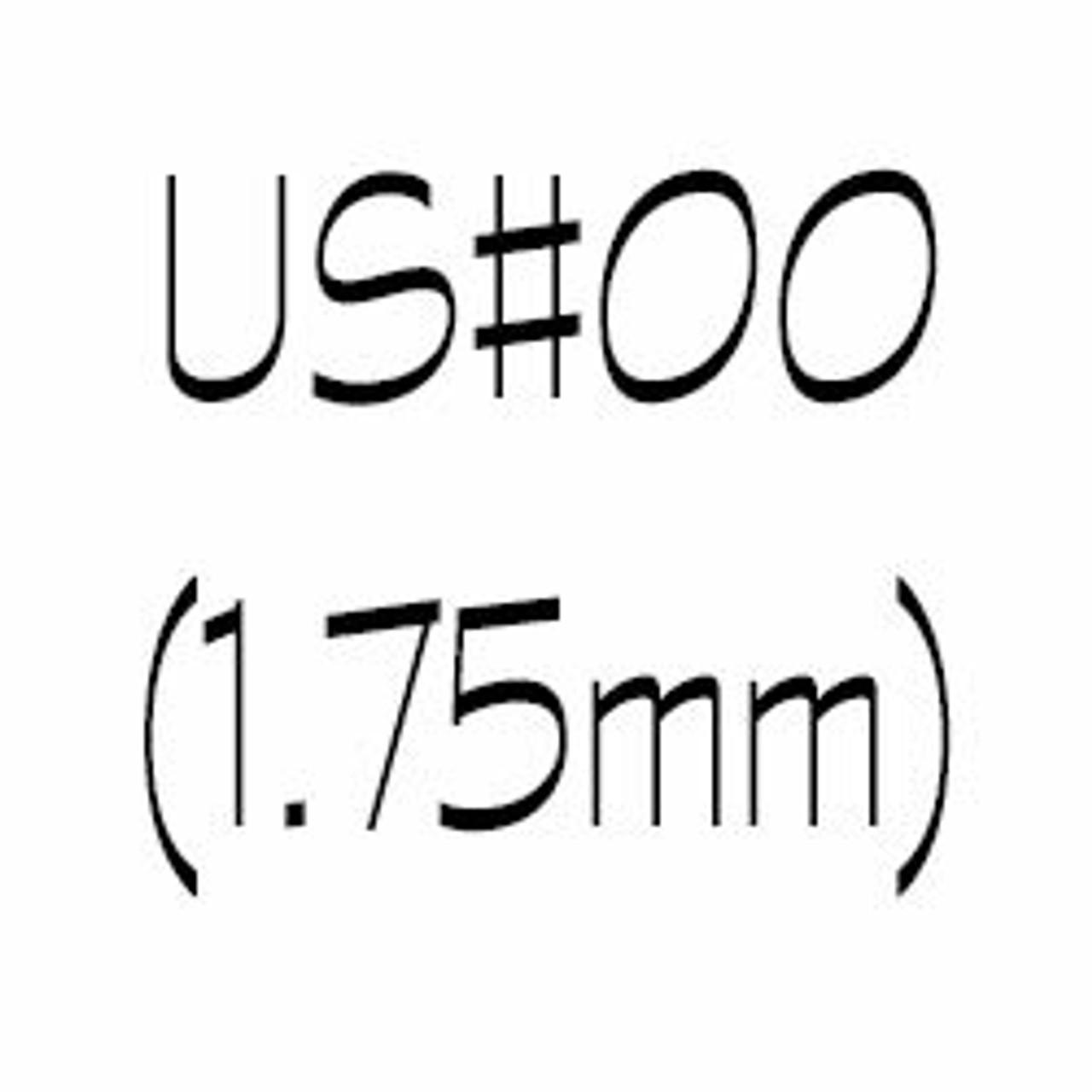 US#00 (1.75mm) Circular Knitting Needles