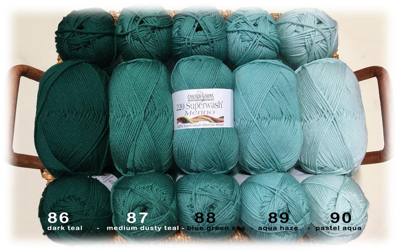 Cascade 220 Superwash Merino Yarn
