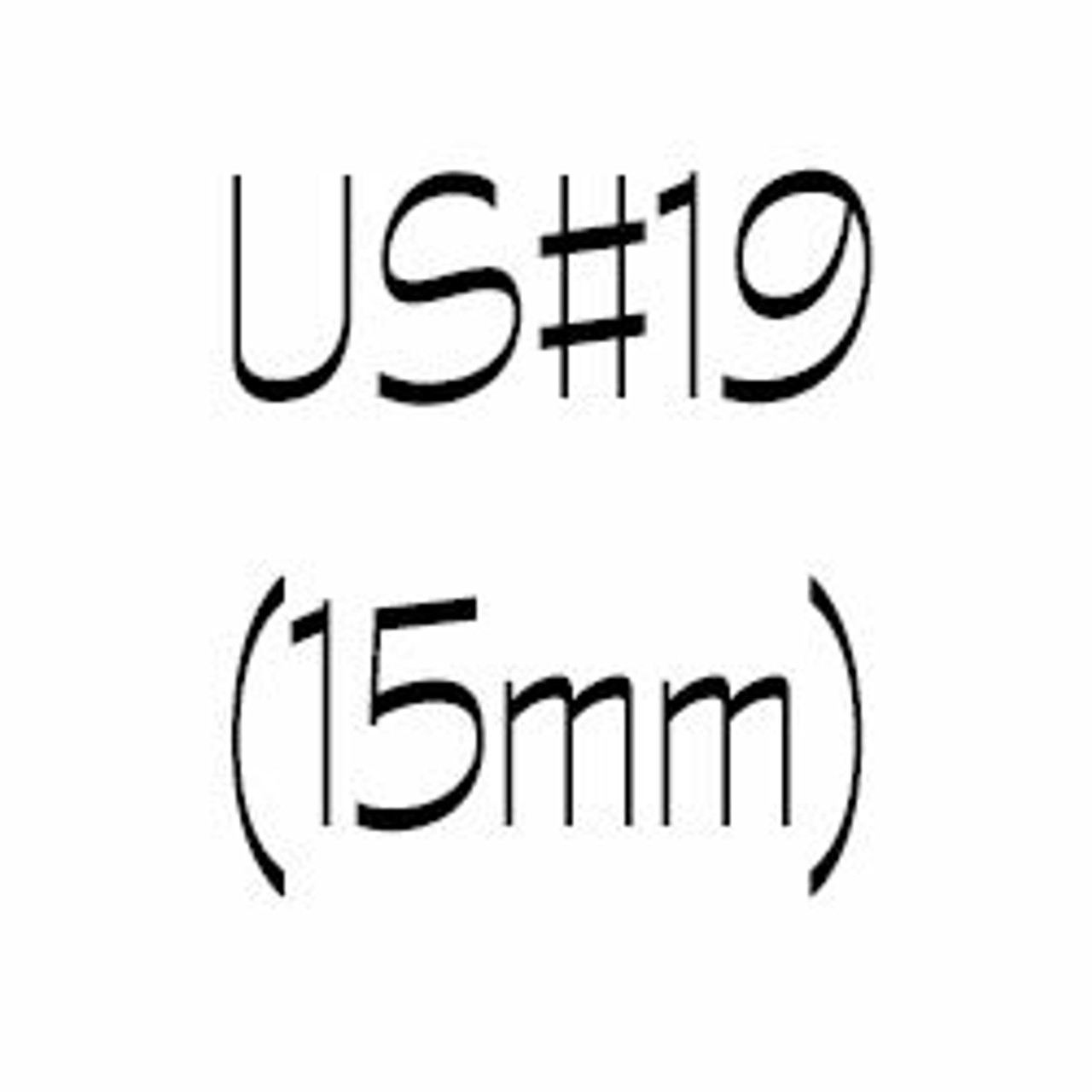 US#19 (15mm) Circular Knitting Needles