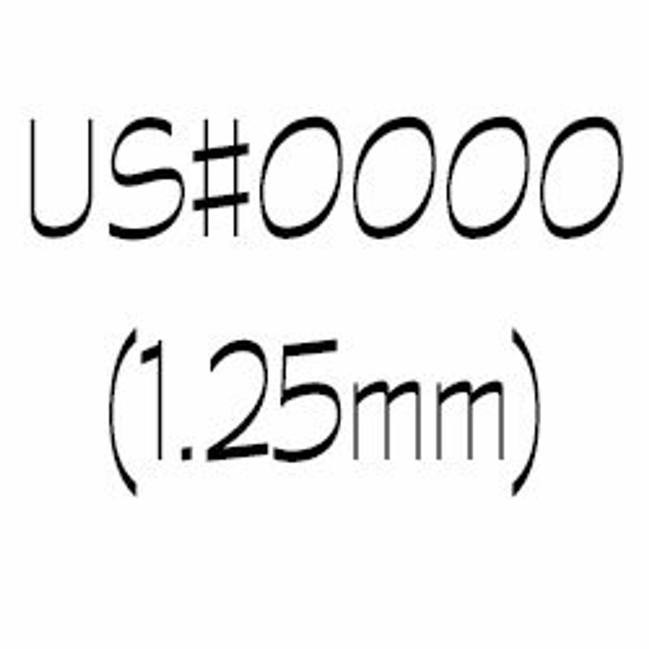 US#0000 (1.25mm) Double Point Knitting Needles