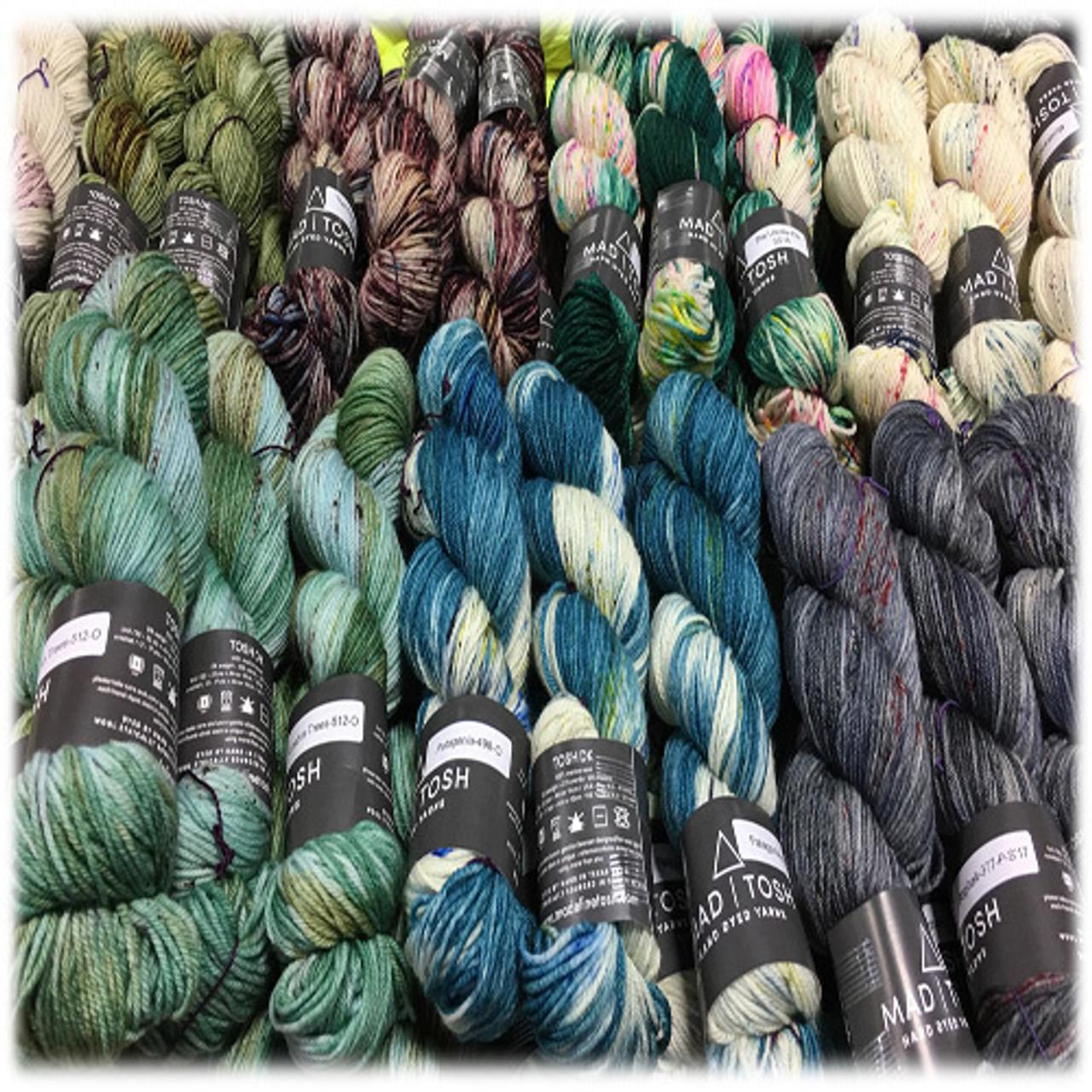 Madelinetosh - Tosh DK - Hand-dyed 100% Merino Yarn
