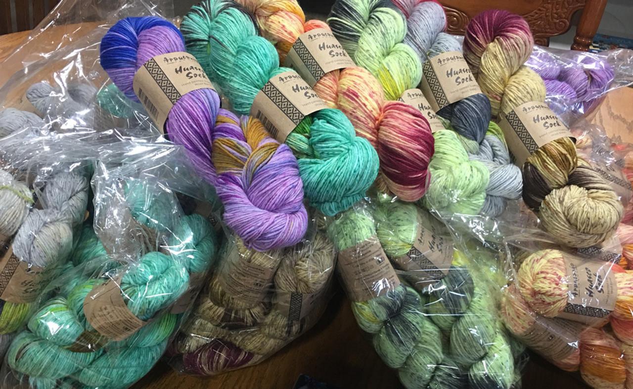 Araucania Huasco Sock | Angelika's Yarn Store