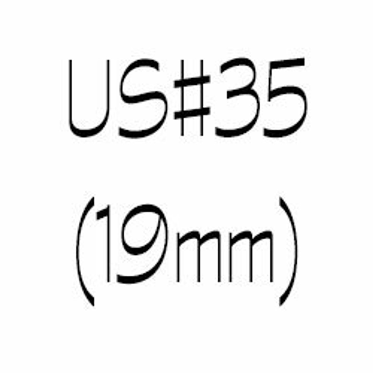 US#35 (19mm) Circular Knitting Needles