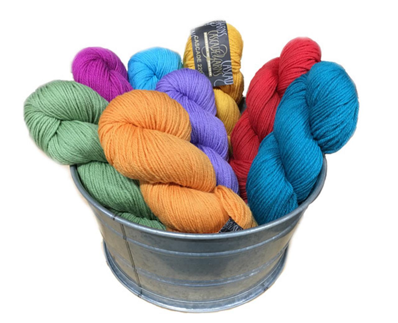 Cascade 220 Peruvian Wool Yarn | Angelika's Yarn Store