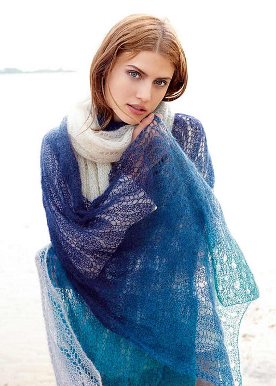 Lana Grossa Silkhair Degrade - 70% super kid mohair 30% silk