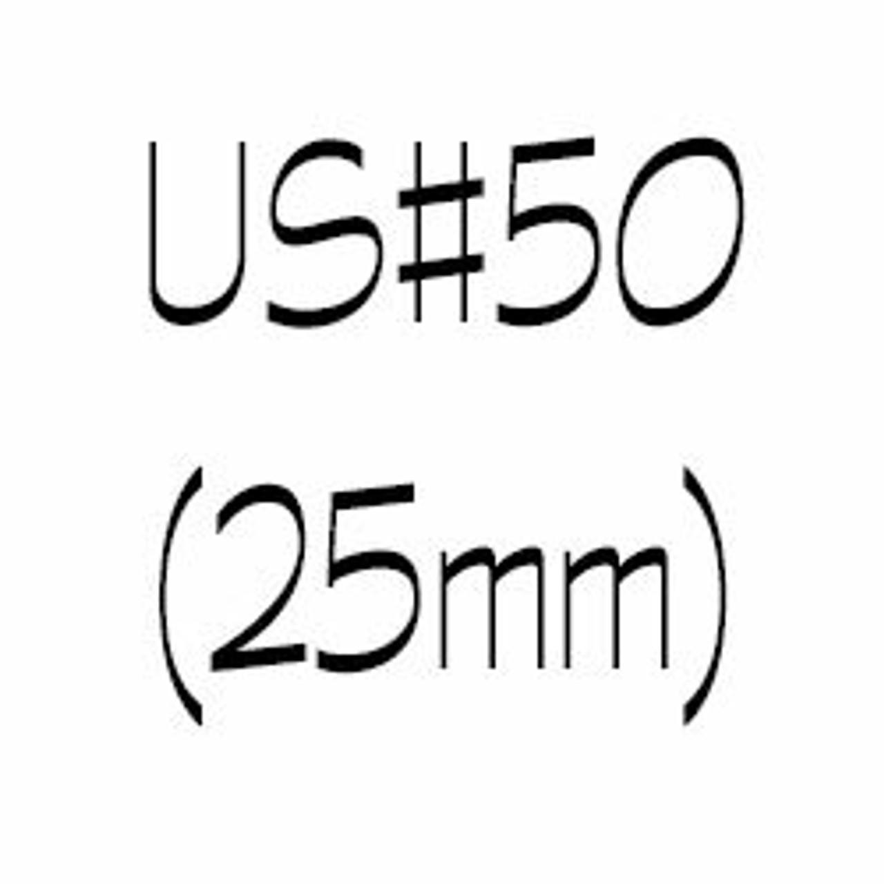 US#50 (25mm) Circular Knitting Needles